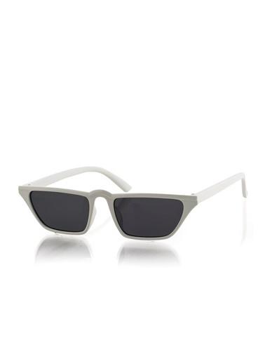 Polo55 Gözlük Beyaz